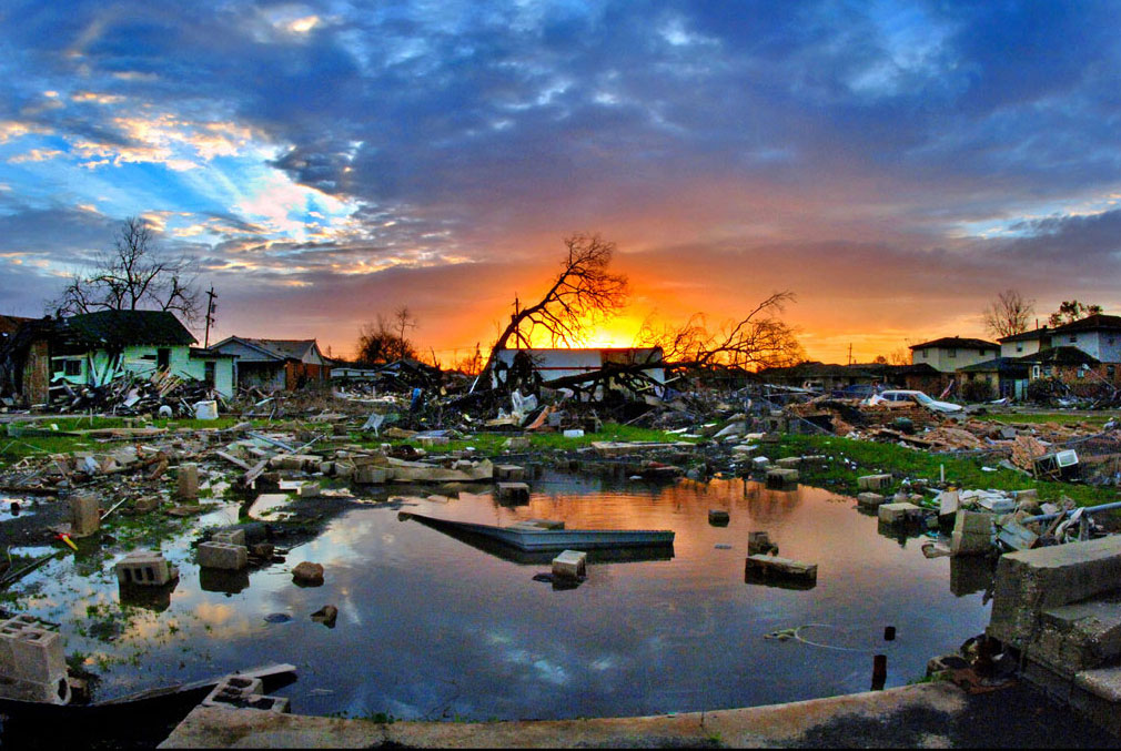 hurricane katrina aftermath Hurricane katrina was one of the most destructive natural disasters in recent history this lesson reviews what made the hurricane so devastating.