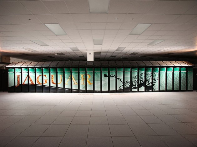 Jaguar supercomputer